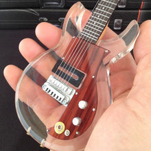 Load image into Gallery viewer, Axe Heaven Keith Richards Dan Armstrong 1/4 scale Miniature Collectible Guitar KR-600
