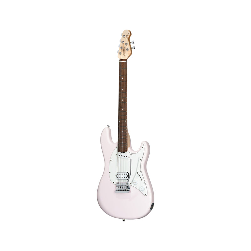 Sterling by Music Man Cutlass Short Scale Guitar, Shell Pink
