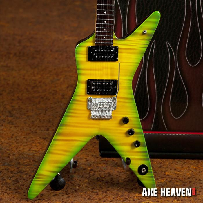 Axe Heaven Dimebag Slime Dime Signature 1/4 scale Miniature Collectible Guitar