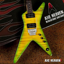 Load image into Gallery viewer, Axe Heaven Dimebag Slime Dime Signature 1/4 scale Miniature Collectible Guitar