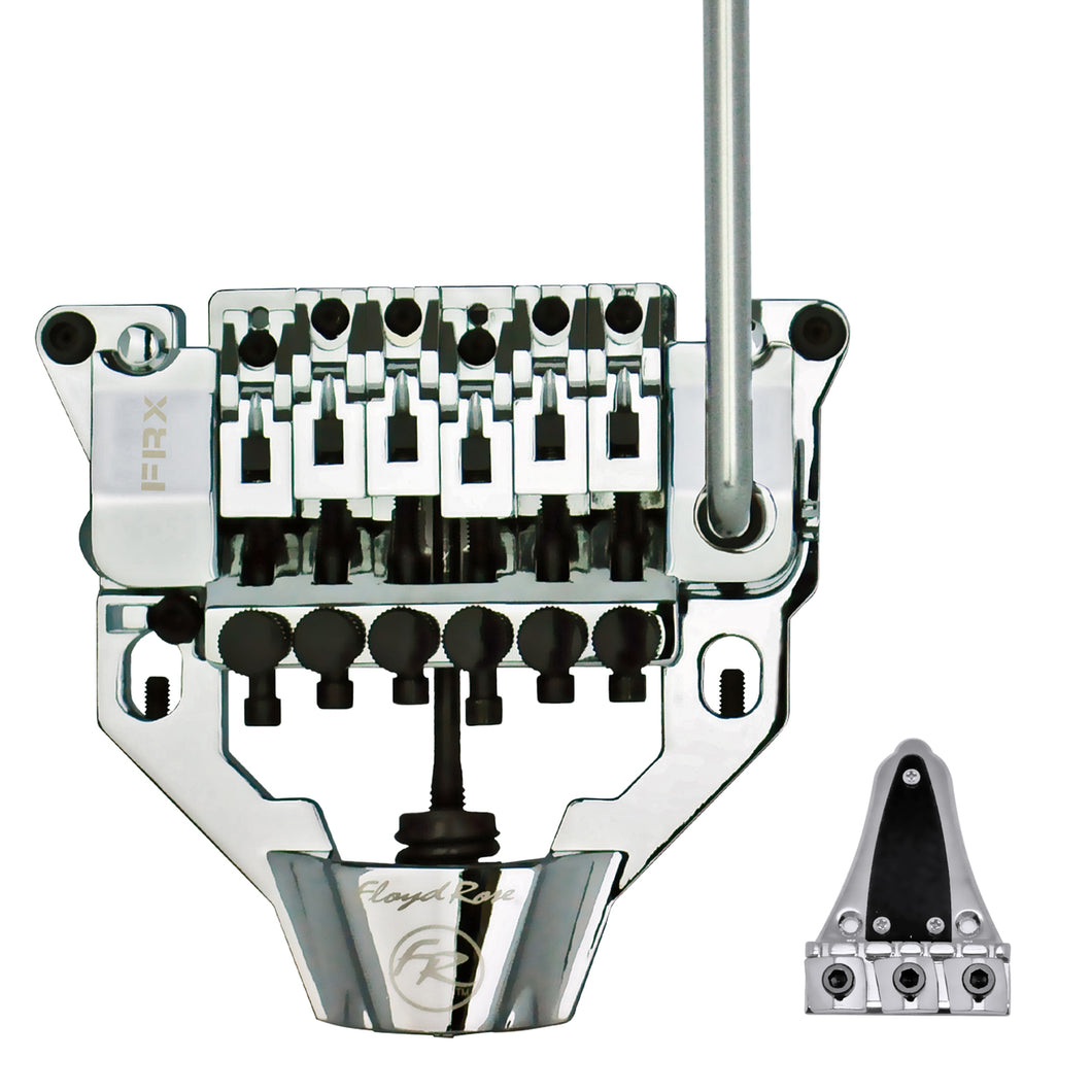 Floyd Rose FRX Top Mount Tremolo Kit Chrome with locking nut FRTX01000