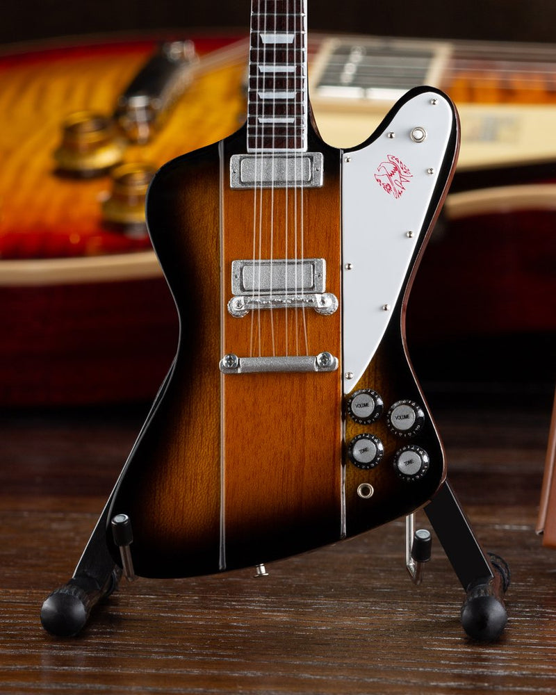 Axe Heaven Gibson Firebird V Sunburst 1/4 scale Miniature Collectible Guitar GG-425