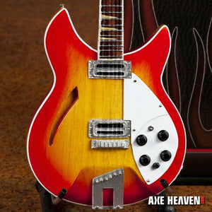 Axe Heaven George Harrison 12-string 1/4 scale Miniature Guitar - GH-337