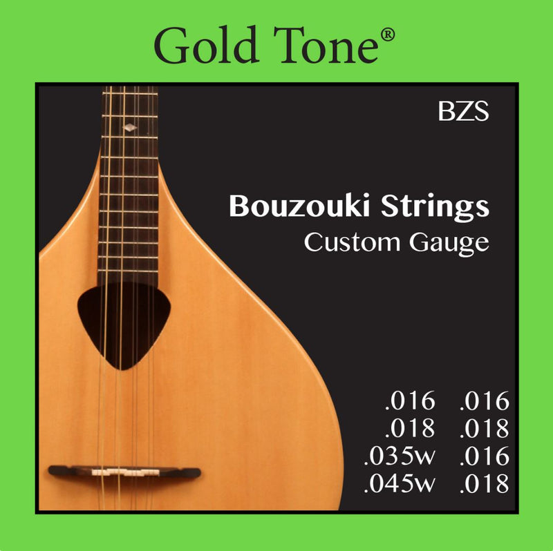 Gold Tone BZS Bouzouki Custom Gauge Strings