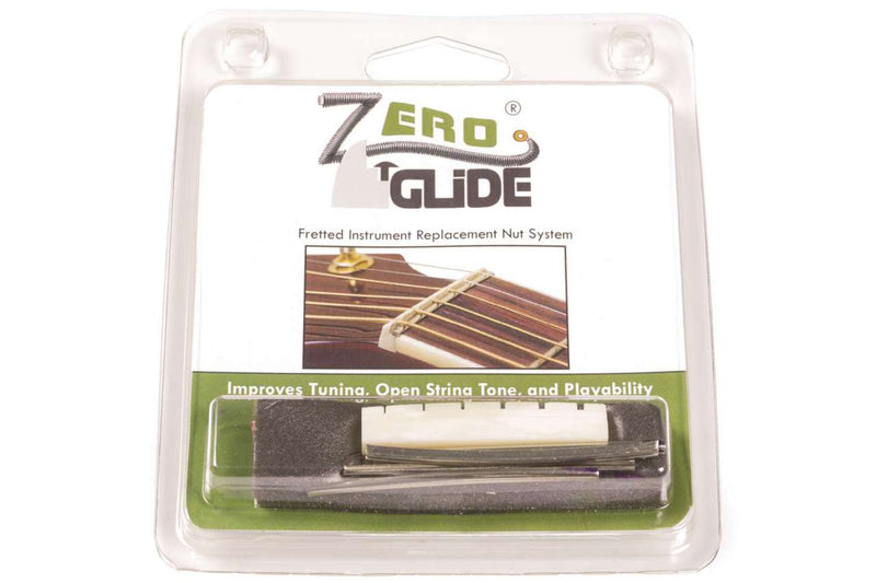Genuine Zero Glide ZS-1L Slotted nut replacement system for Lefty Gibson Guitars