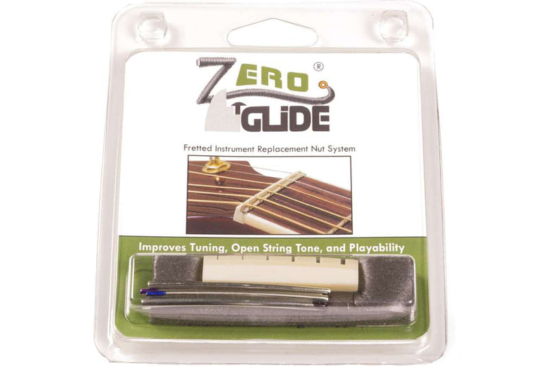 Genuine Zero Glide ZS-14L Slotted nut replacement system for Lefty Guitars
