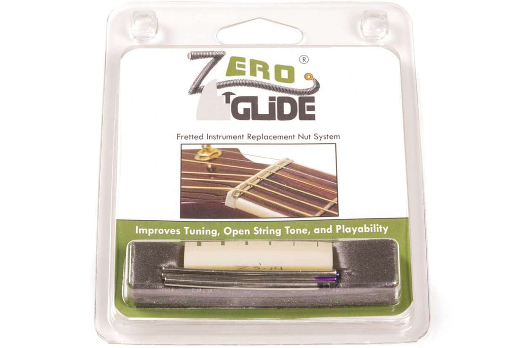 Genuine Zero Glide ZS-14 Slotted nut replacement system for Guitars