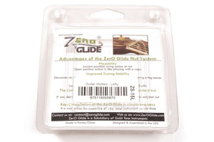 Genuine Zero Glide ZS-15L Slotted nut replacement system for Lefty Guitars