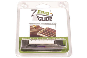 Genuine Zero Glide ZS-15 Slotted nut replacement system for Guitars