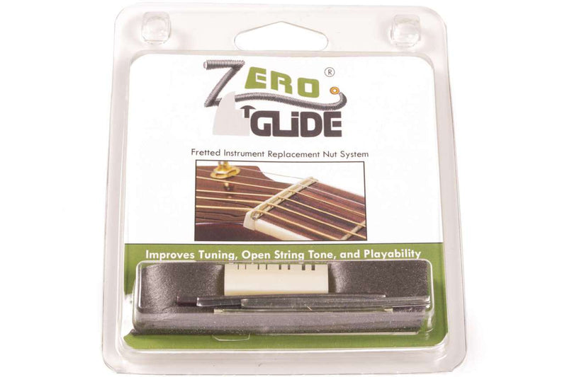 Genuine Zero Glide ZS-16L Slotted nut replacement system for Lefty Mandolins