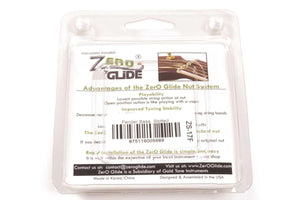 Genuine Zero Glide ZS-17F Slotted nut replacement system for Fender Basses