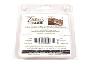 Genuine Zero Glide ZS-18 Slotted nut replacement system for Basses