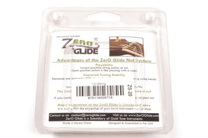 Genuine Zero Glide ZS-20 Slotted nut replacement system for 12 string Guitars