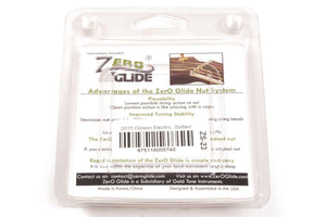 Genuine Zero Glide ZS-23 Slotted nut replacement system for 2015 Gibson Guitars