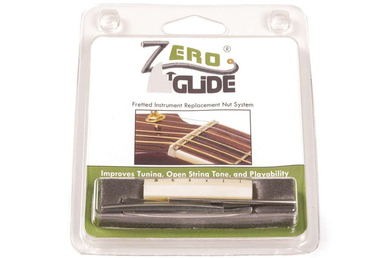 Genuine Zero Glide ZS-5L Slotted nut replacement system for Lefty Taylor Guitars