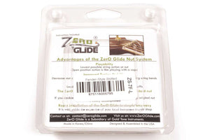 Genuine Zero Glide ZS-7F-L Slotted nut system for Lefty Fender Guitars