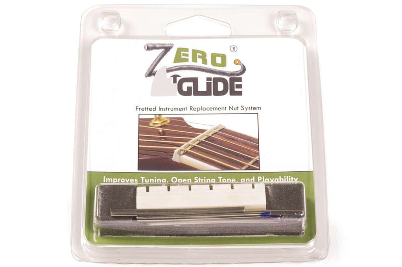 Genuine Zero Glide ZS-13 Slotted nut replacement system for Classical Guitars