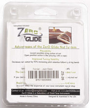 Load image into Gallery viewer, Genuine Zero Glide ZS-26F Slotted nut replacement system for Fender J-Bass
