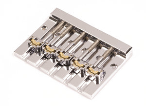 Hipshot KickAss 5 String Bass Bridge Chrome Retrofits BadAss V - 5K501C