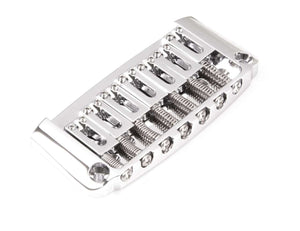 Genuine Hipshot Ibanez Gibraltar replacement Bridge 7 String Chrome 4IBG07C