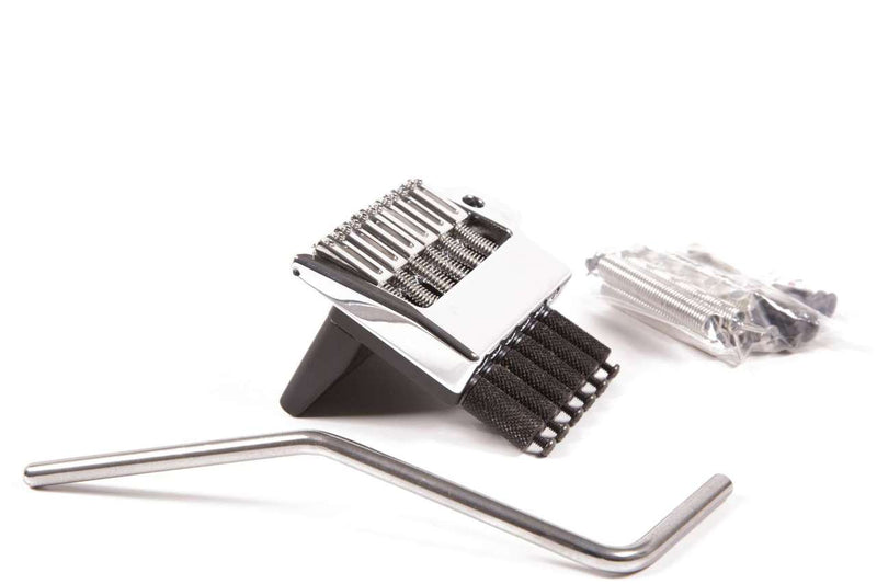 Hipshot Headless Guitar System 6 String Chrome Tremolo Bridge USA 4HV600C-B