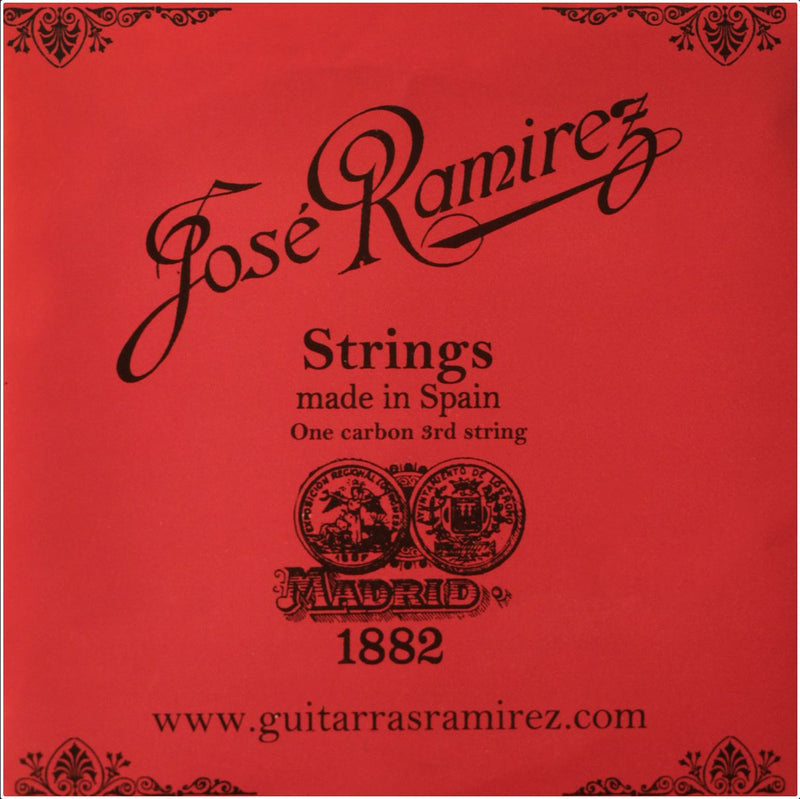 Genuine Jose Ramirez Carbon Hybrid Hard Tension Classical Guitar Strings - JRCH