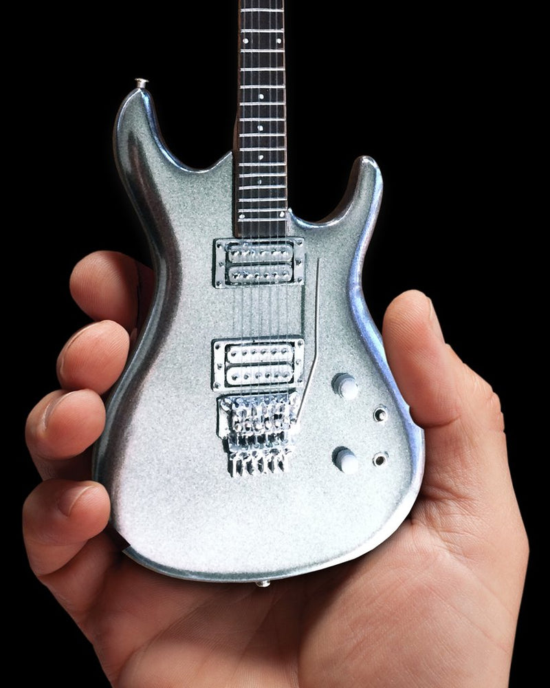 Axe Heaven Joe Satriani Chrome Boy 1/4 scale Miniature Collectible Guitar JS-604