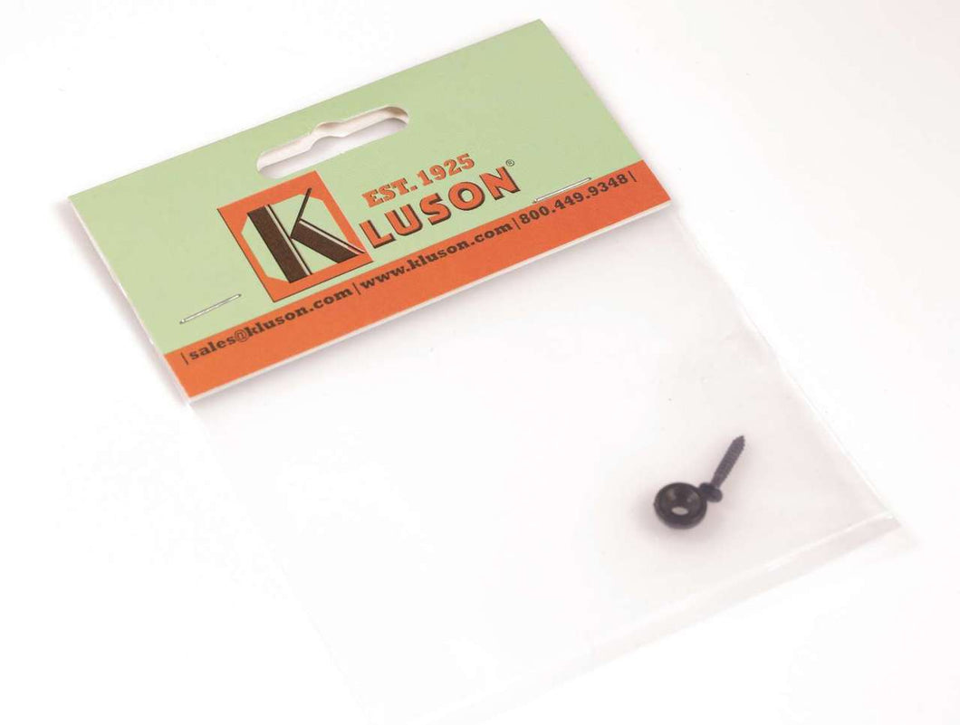 Kluson replacement round string guide for Fender® Telecaster Black