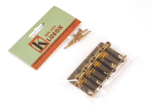 Kluson Bass Bridge Vintage 1958 P-Bass - Gold
