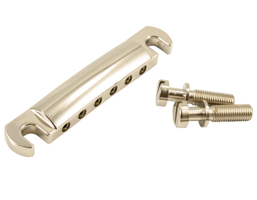 Kluson USA Made Standard Stop Tailpiece Zinc, Nickel KLP-1133N
