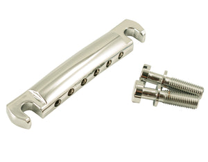 Kluson USA Made Lightweight Stop Aluminum Tailpiece, Chrome KLP-1141C