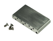 Load image into Gallery viewer, Genuine Kluson Milled Aluminum Vintage Strat Sustain Tremolo Block - KVSBA