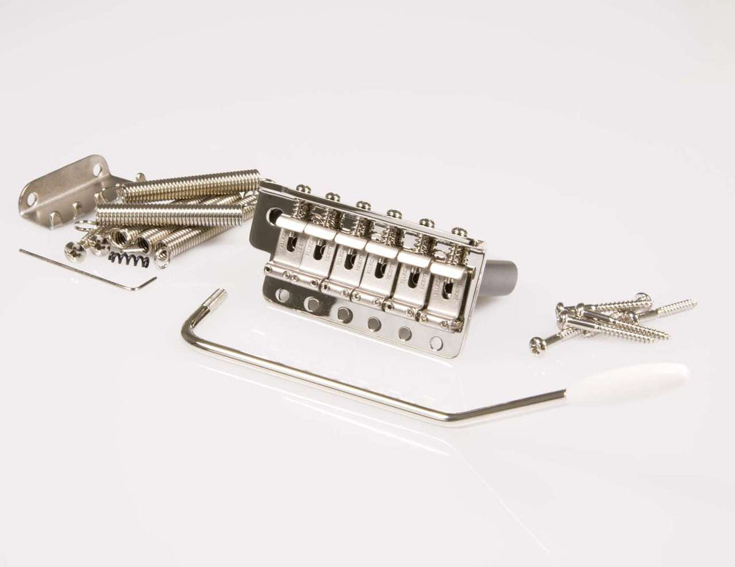 Genuine Kluson KVTSN Vintage Stratocaster 6 Point tremolo Nickel