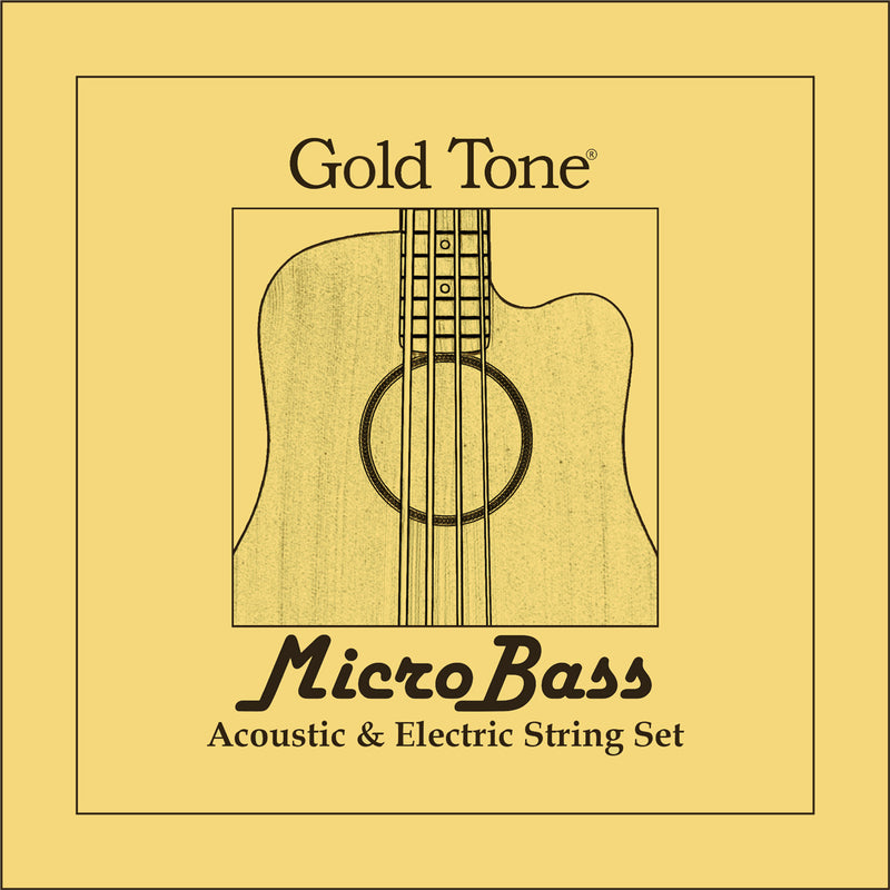 Gold Tone MBS Aquila Thunderguts Rubber/Polymer strings for Microbass