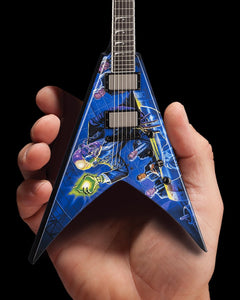Axe Heaven Licensed MEGADETH Dave Mustaine Signature V Rust In Peace Mini Guitar