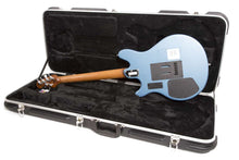 Load image into Gallery viewer, Ernie Ball Music Man USA Valentine Guitar HH Trem Toluca Blue w/case 2018 NEW