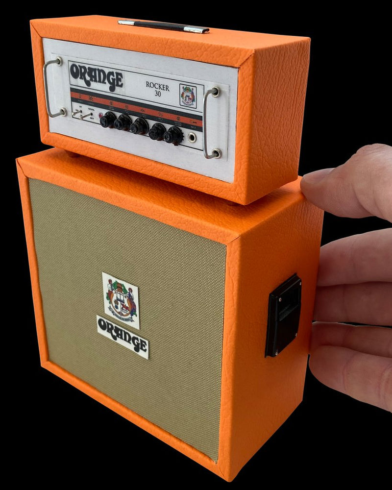 Genuine Axe Heaven Orange Rocker 30 Stack Miniature Collectible Amp - OA-AMP-2