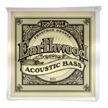 Load image into Gallery viewer, Ernie Ball Earthwood Phosphor Bronze Acosutic Bass Set