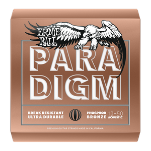 Ernie Ball Paradigm Extra Light Phosphor Bronze Acoustic Guitar Strings New