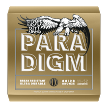 Load image into Gallery viewer, Ernie Ball Paradigm Light 80/20 Bronze Acoustic Guitar Strings New