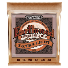 Load image into Gallery viewer, Ernie Ball Earthwood Phosphor Bronze Extra-Light Acoustic Guitar Strings
