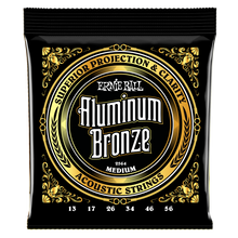 Load image into Gallery viewer, Ernie Ball Medium Aluminum Bronze Acoustic Guitar Strings