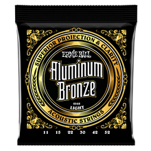 Load image into Gallery viewer, Ernie Ball Light Aluminum Bronze Acoustic Guitar Strings