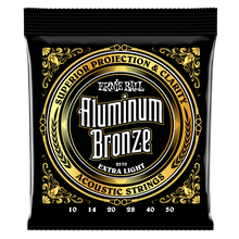 Load image into Gallery viewer, Ernie Ball Extra Light Aluminum Bronze Acoustic Guitar Strings