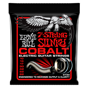 Ernie Ball Cobalt 7 String Skinny Top heavy Bottom Slinky Guitar Strings 10-62