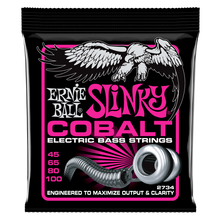 Load image into Gallery viewer, Ernie Ball Cobalt Super Slinky Electric Bass Strings 45-100