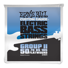 Load image into Gallery viewer, Ernie Ball Flatwound Group II Electric Bass Strings 50-105