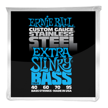 Load image into Gallery viewer, Ernie Ball Extra Slinky Stainless Steel Electric Bass Strings 45-100