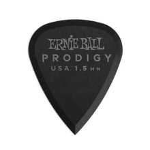 Load image into Gallery viewer, Genuine Ernie Ball 1.5 mm Black Standard Prodigy Picks 6-Pack P09199