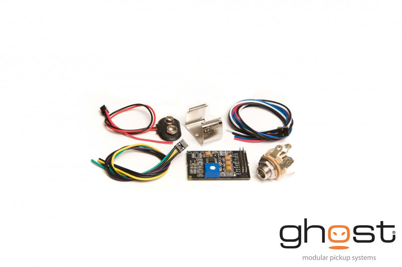Graph Tech Ghost Acousti-Phonic preamp Kit for Bass - Basic PE-0340-00